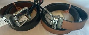 Levi's Gürtel OHKAY Reversible Wendegürtel Leder braun oder schwarz 230183