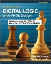 Fundamentals of Digital Logic with VHDL Design by Zvonko G(Int'Ed Paperback)W CD