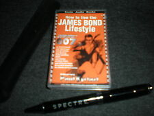 SPECTRE PEN AND 007 JAMES BOND LIFESTYLE AUDIO - SKYFALL, CASINO ROYALE