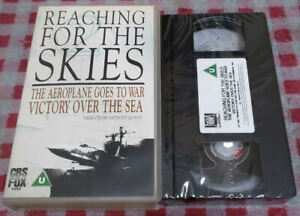 Reaching For The Skies: The Aeroplane Goes To War - New/sealed VHS video