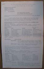 "1970 ""New York Pennsylvania Professional Baseball League"" Newsletter- Minors"