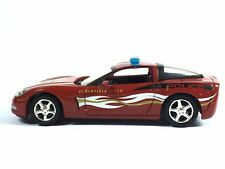 Greenlight Bloomfield Hills Police Car 2007 Chevy Corvette Collection 1/64 Loose