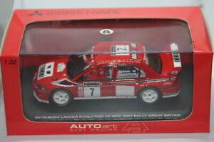 Mitsubishi Lancer Evo V11 WRC 2001 Makinen/Lindstrom Gt Brit 1/32 AutoArt MODEL