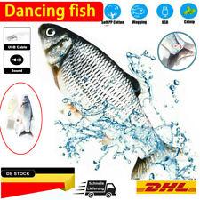 Flippity Fish Cat Fisch Toy Elektrische Floppy Katzenspielzeug Fischspielzeug DE