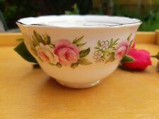Colclough Enchantment Sugar Bowl - Pink Roses Vintage China 7132