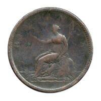 KM# 663 - One Penny - George III - Great Britain 1806 (Poor)