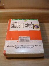 Statistics Informed Decisions Using Data, Michael Sullivan, Student Study Pack