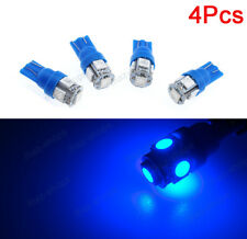 4x 8000K Blue T10 5-SMD LED Front Sidemarker Lamp Bulbs Fit Ford F150-550 Focus