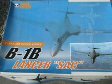 Rockwell B-1B Bomber Lancer Model Aircraft Kit  - 1/144 Scale +Cloth Patch