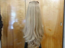 "Malky European Sheitel 26"" Multidirectional Wig Dirty Blonde #16/10"