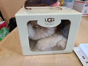 UGG Australia Baby #5206 BOO Sheepskin Lined Boots Booties SZ SMALL 4