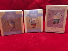 "Hallmark ""Eggs in Sports"" Easter Spring 1992, 1993 & 1994 1st, 2d & 3d in Series"
