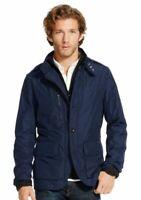Polo Ralph Lauren Men's Aviator Military Sport Navy Windbreaker Jacket Size S