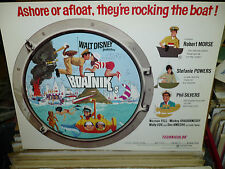 BOATNIKS, orig Disney LCS (Stefanie Powers, Robert Morse, Phil Silvers) - 1970