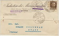 VICENZA - INDUSTRIA DEI MARMI VICENTINI 1933