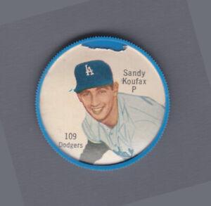 Sandy Koufax 1962 Salada Tea and Junket Coin