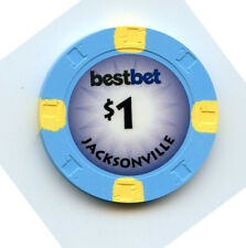 1.00 Casino Chip from the Best Bet Casino Jacksonville Florida