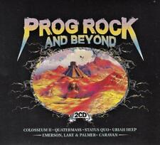 PROG ROCK AND BEYOND - VARIOUS ARTISTS (NEW  SEALED 2CD)