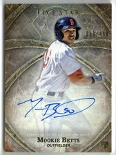 MOOKIE BETTS 2014 TOPPS FIVE STAR ROOKIE AUTO AUTOGRAPH RC CARD #283/499!