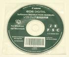 CANON EOS Digital Software Instruction manual CCS-M056-001 Macintosh Windows