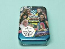 Topps WWE Slam Attax 2020 Reloaded Mega Tin 3 - 62 Karten + Limited Edition