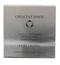 Estee Lauder Crescent White Full Cycle Brightening Moisture Creme 1.7 Ounce