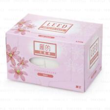 LEED Beauty Puff Cosmetic Makeup Cotton (200 large sheets)-Jumbo Size x 2 Boxes