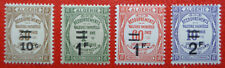 Algérie neufs, timbres-taxe n°21 à 24, 1932, N**