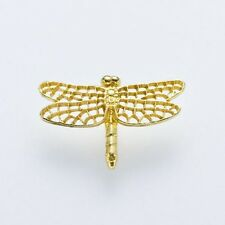 Japanese Traditional Handicraft by Ken Izumi (Pin-brooch) (Tiny Dragonfly) (T-4)