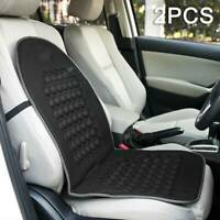 2X Car Van Seat Cushion Orthopaedic Padded Front Seat Cover Protect Back Support
