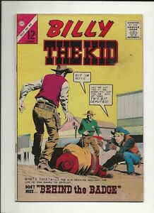 BILLY THE KID #44 1964 CHARLTON SILVER AGE WESTERN COMIC VG