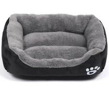 Dog House Pet Bed Cozy Soft Cushion Blanket Mat Pad Cat Cage Kennel Crate Warm