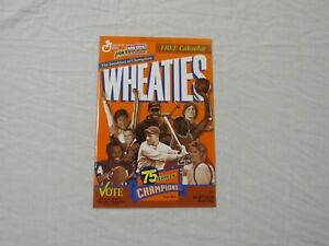 Wheaties 75 Years Of Champions 1999 Calendar