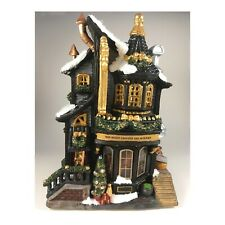 Harry Potter Inspired Christmas 'Lemax' Village - Wizard Wand Shop UPDATED