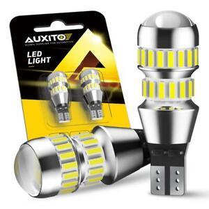 AUXITO 921 912 LED Reverse Backup Light Bulb W16W 904 906 916 Error Free 6000K F
