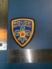BATON ROUGE Louisiana POLICE DEPT. HAT PATCH