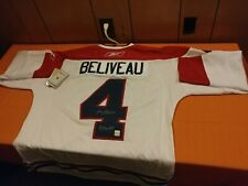MONTREAL CANADIANS Jean Beliveau Autographed  Reebok Authentic Pro Hockey Jersey