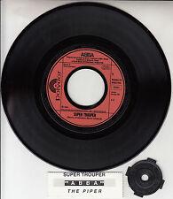 "ABBA  Super Trouper & The Piper  PICTURE SLEEVE 7"" 45 rpm BRAND NEW + juke strip"