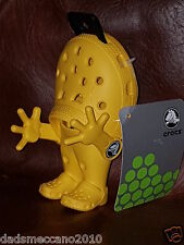 L👀K Crocs Yellow official Guy Figure PLUS FREE summer ice lolly moulds 6 jelly