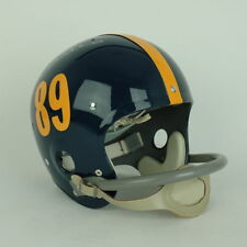 1950s Pitt Suspension Football Helmet Autograph Mike Ditka Signed