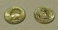 1964 D Silver 90% Washington Quarter AU