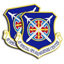 Air Force Special Ops Warfare Sticker  -  Military Dye Cut Decal - 2 Pack MR 020