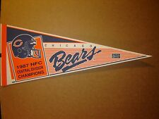 1987 Chicago Bears Division Champions Football NFL Pennant