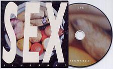 SLUGABED Sex 2012 UK 4-track promo CD Ninja Tune