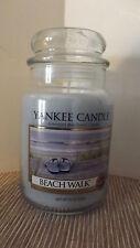 Yankee Candle Beach Walk Housewarmer 22 oz Jar Glass New 110-150 hours
