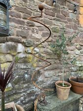 5 x Metal Curly Plant Stem Supports
