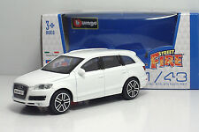 "Bburago 30000 AUDI Q7 ""White"" - METAL Scala 1:43"