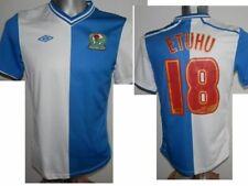 2012-13 FC Blackburn Rovers Etuhu #18 Home Football shirt Soccer size XLB / 158