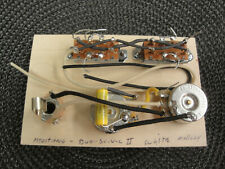 MADE FOR FENDER MUSTANG DUO-SONIC II CTS SWITCHCRAFT MALLORY WHITE PROJECT PARTS