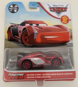 2021 DISNEY PIXAR CARS - RACING RED JACKSON STORM - CHASE - METAL - NEW - RARE